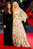Alice Englert and Elle Fanning 56th BFI London...