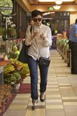 Ginnifer Goodwin shopping at Gelsons. Los Angeles, California...