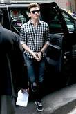 'Glee' star Chris Colfer Celebrities outside ABC studios...