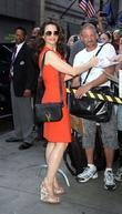 Kristin Davis  Celebrities outside ABC studios ahead...