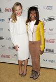 Julie Benz and Gabby Douglas