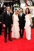 David Benioff, Amanda Peet, Golden Globe Awards and Beverly Hilton Hotel