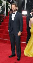 Gerard Butler, Golden Globe Awards and Beverly Hilton Hotel