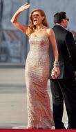 Connie Britton and Beverly Hilton Hotel