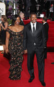 Denzel Washington, Olivia Washington, Beverly Hilton Hotel