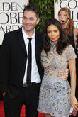 Thandie Newton, Ol Parker and Beverly Hilton Hotel