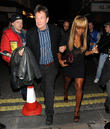 Alexandra Burke and Michael Brandon