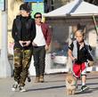 Kingston Rossdale, Gwen Stefani and Gavin Rossdale