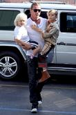 Gavin Rossdale, Zuma Rossdale and Kingston Rossdale go...