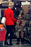 Gwen Stefani and Kingston Rossdale shopping together at...