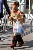 Kingston Rossdale leaving Petco with a shopping bag...
