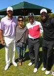 Boris Kodjoe, Halle Berry, Celebrity Golf Classic