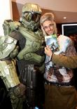 halo by xbox 360 launch at westfield stratford shop