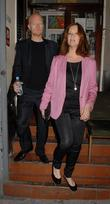 Jake Wood, Alison Wood Celebrities leaving The Harold...