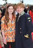Bonnie Wright and Rupert Grint