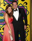 Jamie-Lynn Sigler and Jimmy Fallon HBO's Annual Emmy...