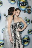 Andie MacDowell, Rainey Qualley and Golden Globe
