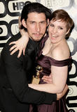 Adam Driver, Lena Dunham and Beverly Hilton Hotel