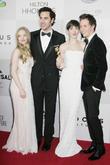 Amanda Seyfried, Sacha Baron Cohen, Anne Hathaway, Eddy Redmayne and Beverly Hilton Hotel