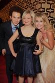 Josh Sussman, Lauren Potter, Tess Hunt and Beverly Hilton Hotel