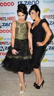 Alison King and Kym Marsh