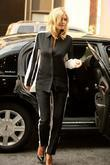 Heidi Klum  seen returning to her Manhattan...