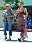 Heidi Klum  seen with her mother Erna...