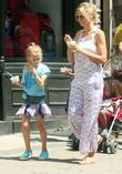heidi klum and family enjoying time in soho park ea