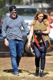 Mike Comrie and Hilary Duff Hilary Duff enjoys...