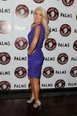 holly madison at the grand opening of the earl of s
