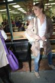 Julianne Hough  leaves a nail salon Beverly...