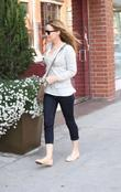 Leslie Mann  visits the doctors office Beverly...