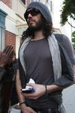 Russell Brand  out and about in Beverly...