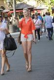 sara paxton shopping at the grove hollywood califor