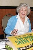 Barbara Hale at the 'Hollywood Show' held at...