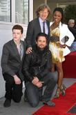 Cameron Monaghan, Justin Chatwin, William H Macy and Walk Of Fame