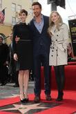 Anne Hathaway, Hugh Jackman and Amanda Seyfried