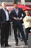 Hugh Jackman and Jay Leno