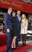 Tom Hopper, Anne Hathaway, Hugh Jackman and Amanda Seyfried