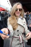 Amanda Seyfried Hugh Jackman's Hollywood Star ceremony on...