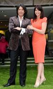 Laurence Llewelyn-bowen and Suzi Perry