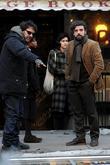 Joel Coen and Oscar Isaac
