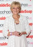 Gillian Wright - winner The Inside Soap Awards...