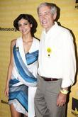 Marena Baccarin & George Rupp International Rescue Committee's...