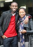 Fabrice Muamba and Shauna