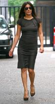 Laila Rouass outside the ITV studios London, England