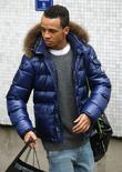Aston Merrygold of JLS at the ITV studios...
