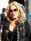 Jennifer Coolidge outside the ITV studios London, England