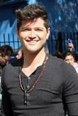 Danny O'Donoghue outside the ITV studios London, England