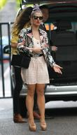 Kelly Osbourne outside the ITV studios London, England